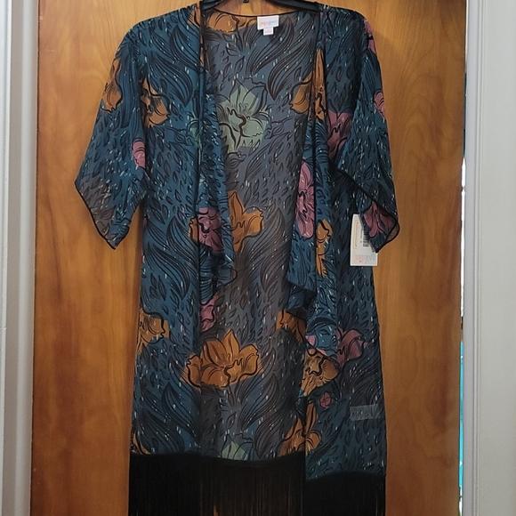Lularoe Monroe kimono NWT!